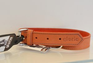 Collier orange Gloria MISCOTA chez IDÉFIX Toilettage