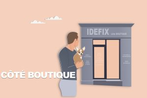 Côté boutique IDÉFIX Toilettage