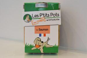 Petits pots saumon DR.FOODLITTLE chez IDÉFIX Toilettage
