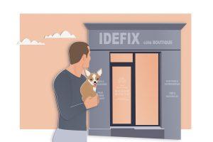 Côté boutique IDÉFIX Toilettage